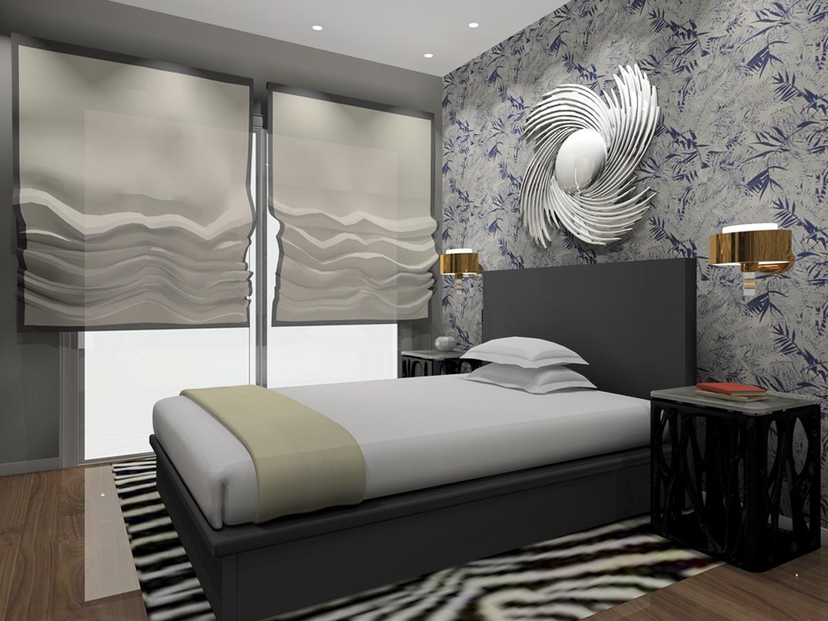 Proyecto de decoraci n dormitorio principal keinzo for Decoracion de dormitorio principal
